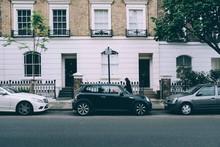 Minicooper In London Vor Häus...
