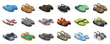 Fashion Sandal Vector Illustra...