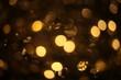 out of focus multicolor elegant garland bokeh christmas macro background