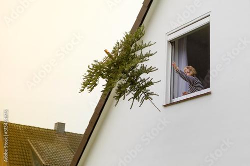 Fototapeta Weihnachten ist vorbei obraz