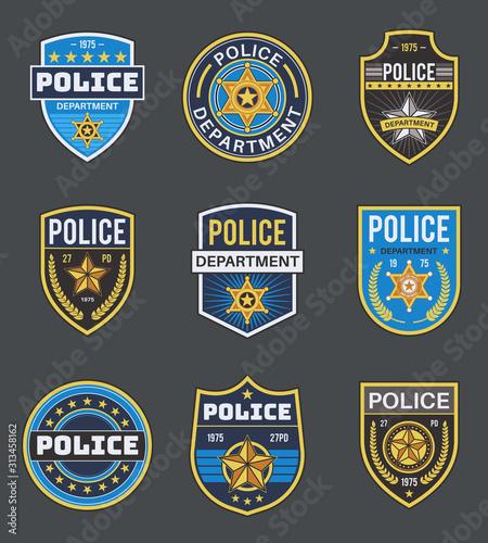 Fotografía  Police labels