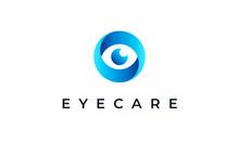 Abstract Eye Logo Design