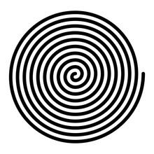 Large Linear Spiral. Archimede...