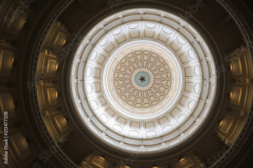 Fotografie, Tablou Texas Capital Dome