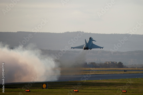 Photo RAF Typhoon