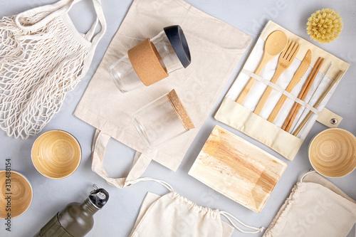 Fotografie, Tablou Zero waste kit