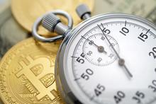 Physical Golden Bitcoin Coins ...