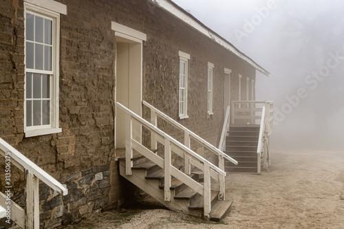 Photo colonial barrack