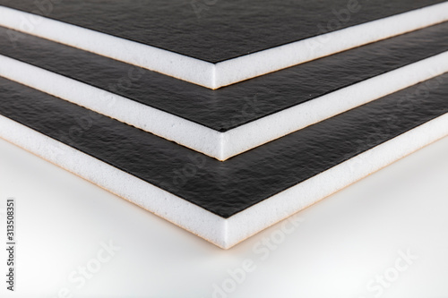 Teflon-coated sound insulation board Canvas Print
