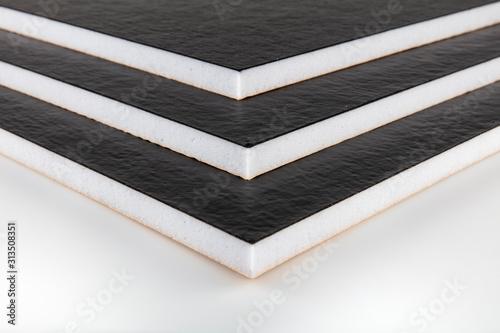 Fotografia, Obraz Teflon-coated sound insulation board