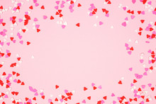 Valentines Day Frame Of Candy ...
