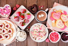 Valentines Day Table Scene Of ...
