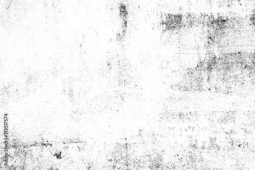 Fototapeta Abstract texture dust particle and dust grain on white background. dirt overlay or screen effect use for grunge and vintage image style. obraz