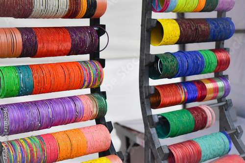 Photo Colorful bangles on sale