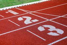Athletic Running Track For Run...