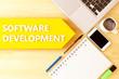 Leinwanddruck Bild - Software Development