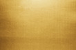 canvas print picture - Gold paper texture background. Golden metallic blank paper sheet surface smooth reflection