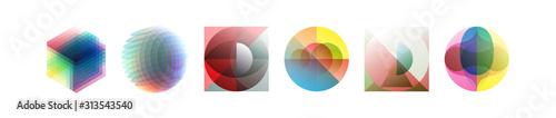 Fotografía  Abstract geometric design