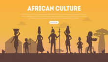 African Culture Landing Page T...