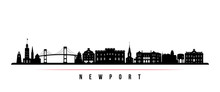 Newport Skyline Horizontal Ban...