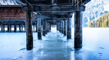View From Under The Pier Onto ...