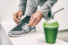 Green Juice Exercise Man Getti...