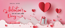 Gift Boxes With Heart Balloon ...