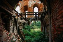 Old Abandoned Overgrown Mediev...