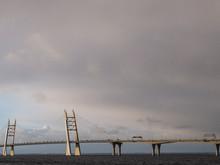 The Long Bridge Extends Agains...