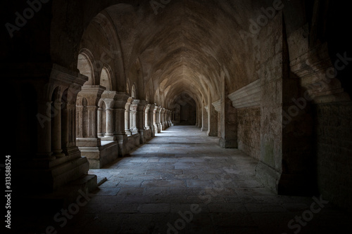 francia, Abbaye de Fontenay, bourgogne, borgogna, cistercensi, medioevo, gotico Wallpaper Mural