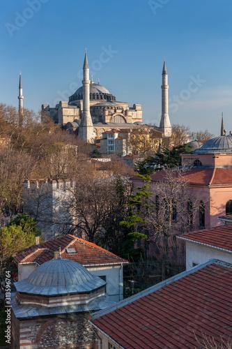 Fotografia The Hagia Sophia - Istanbul - Turkey