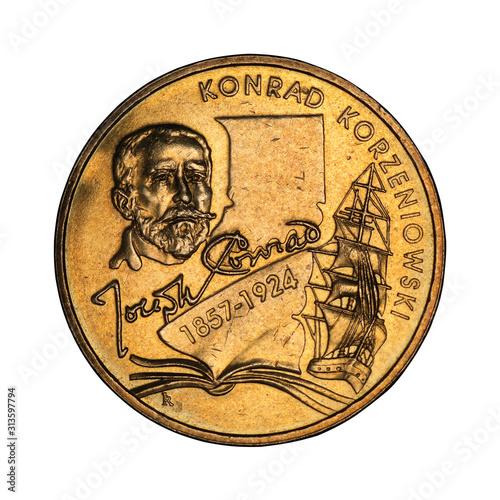 Fotomural  Polish commemorative coin