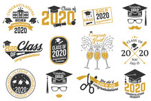 Set Of Vector Class Of 2020 Ba...