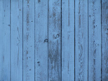 Blue Wood Texture. Blue Grunge Background. Vintage Indigo Board. Blue Grunge Table. Old Painted Wooden Surface. Cracked Peeling Paint. Weathered Faded Planks.