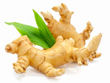 Ginger Spice Root Isolated On ...
