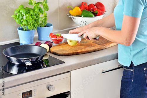 Fototapeta Preparing food. obraz