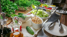 Choice Of Salads, Buffet