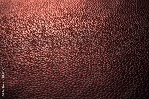 Valokuvatapetti Texture cuire grainé rouge cuivre