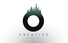 Creative O Letter Logo Idea Wi...