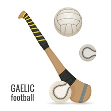 Gaelic Football Club And Balls...