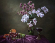 Still Life With Bouquet Of Flo...