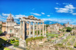 Forum Romanum During a Sunny Day, Rome