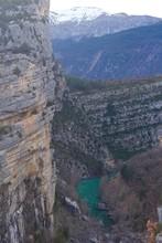 Vue Sur Le Lac De Chaudanne, A...
