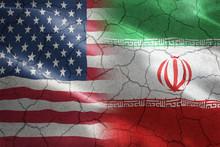 Cracked Flag Of United States ...