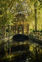 Medici Fountain In Paris Durin...