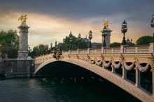 Pont Alexandre III With Petit ...