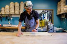 A Baker Folds Down In Professi...