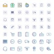 Icon Set Of E-commerce For Personal And Commercial Use...