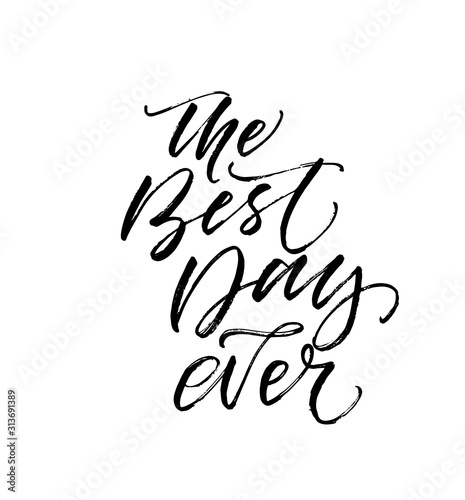 Canvas-taulu The best day postcard