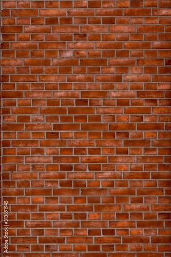Okleiny na drzwi cegła  red-brick-wall-background